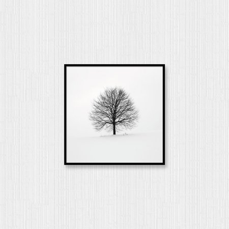 Quadro Decorativo Árvore Seca