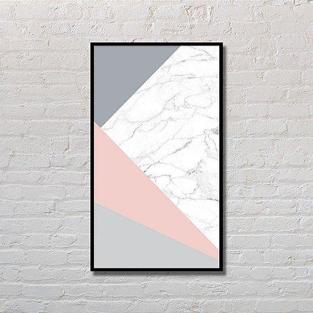 Quadro Decorativo Geometria Carrara