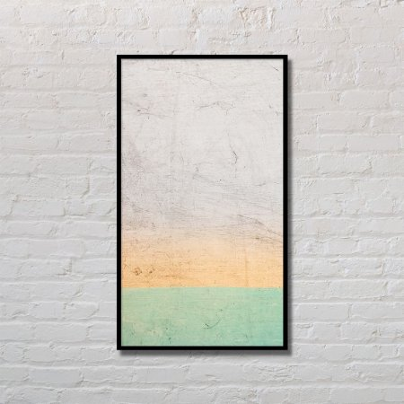 Quadro Decorativo Areia Colorida