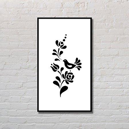 Quadro Decorativo Floral