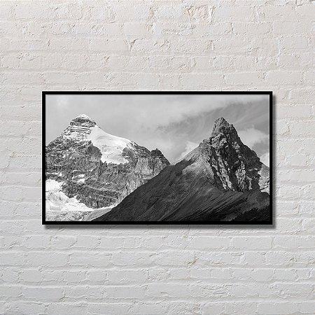 Quadro Decorativo Montanhas Acizentadas