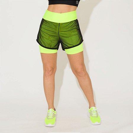 Shorts de Corrida Cintia Duplo