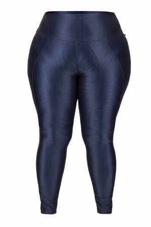 LEGGING NEW ZIG PLUS SIZE Marinho