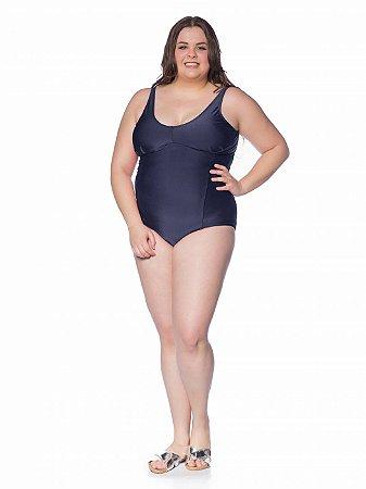 Maiô/Body Ruthe Plus Size Marinho Marinho