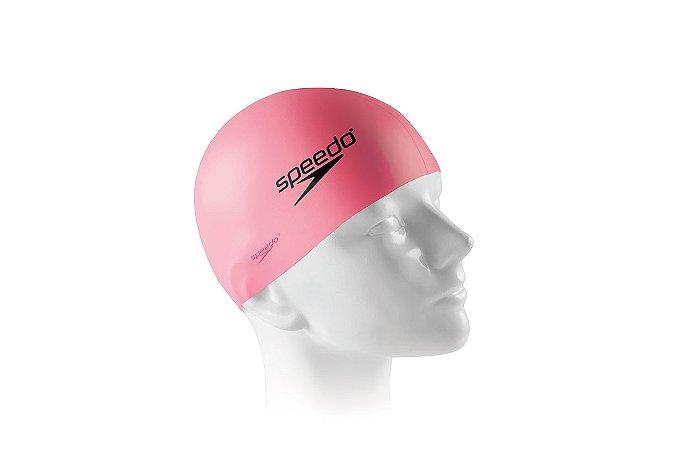 Touca Silicone para natação e hidroginástica SPEEDO Pink