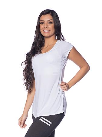 Bata Janfer Sport Mariana Plus Size com secagem rápida Branco