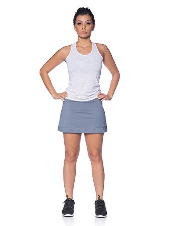 Saia Shorts Ketlyn Cinza