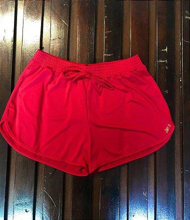 Shorts valentina vermelho