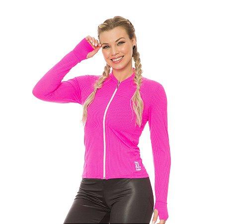 Jaqueta charlote rosa