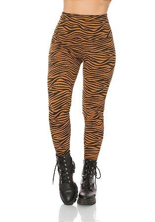 Legging modeladora animal print