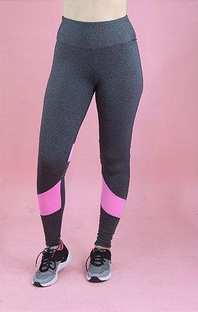 Legging akira mescla com rosa