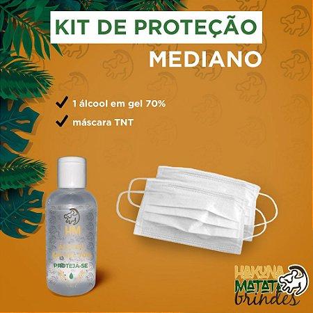 100 unidades Kit Proteção Standart