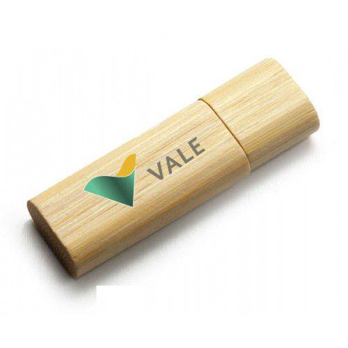 Pen Drive Ecológico de Bambu Personalizado