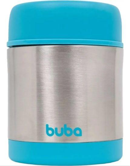 Pote Térmico Aço Inoxidável Azul Buba