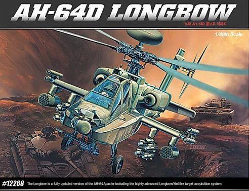Academy - AH-64D Longbow - 1/48