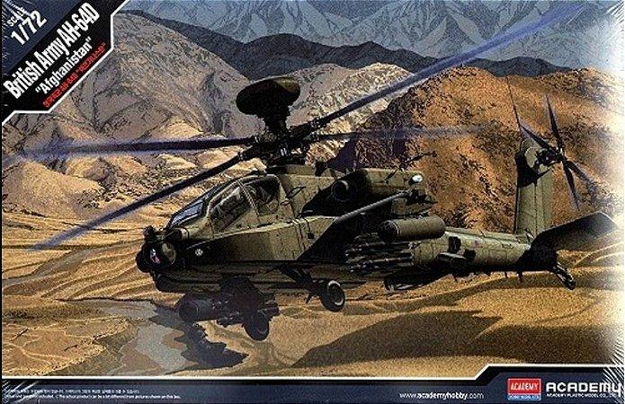 "Academy - British Army AH-64D ""Afghanistan"" - 1/72"