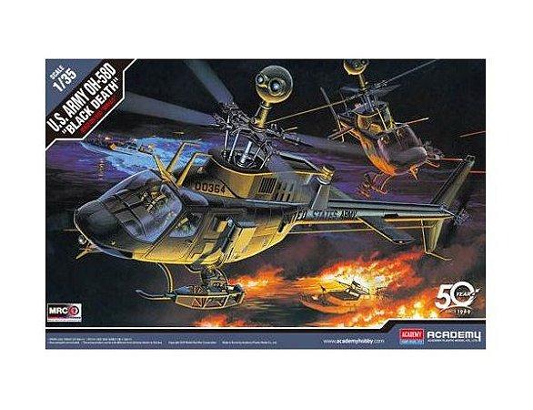 """Academy - U.S. Army OH-58D """"BLACK DEATH"""" - 1/35"""