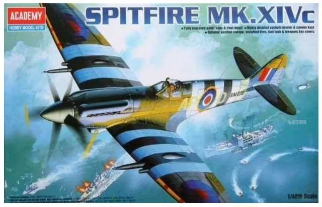 Academy - Spitfire Mk.XIVc - 1/48