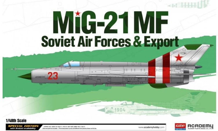 Academy - MIG-21MF Soviet Forces & Export - 1/48