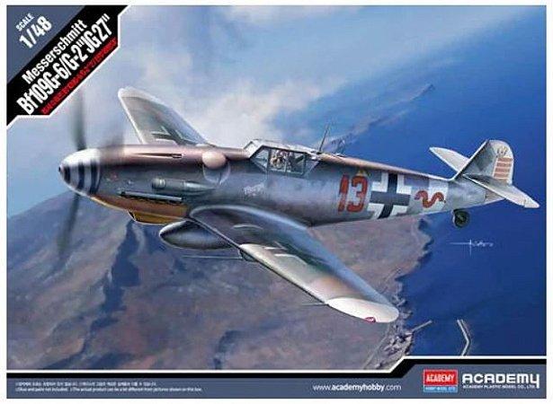"""Academy - Messerschmitt Bf109G-6/G-2 """"JG27"""" - 1/48"""