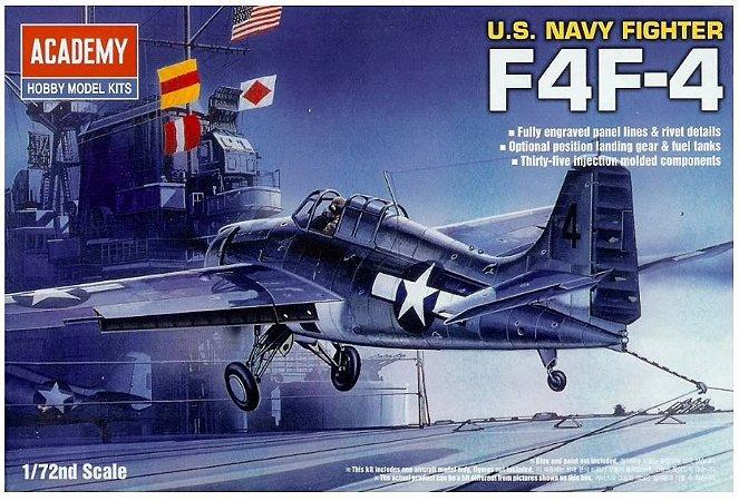 Academy - U.S. Navy Fighter F4F-4 - 1/72