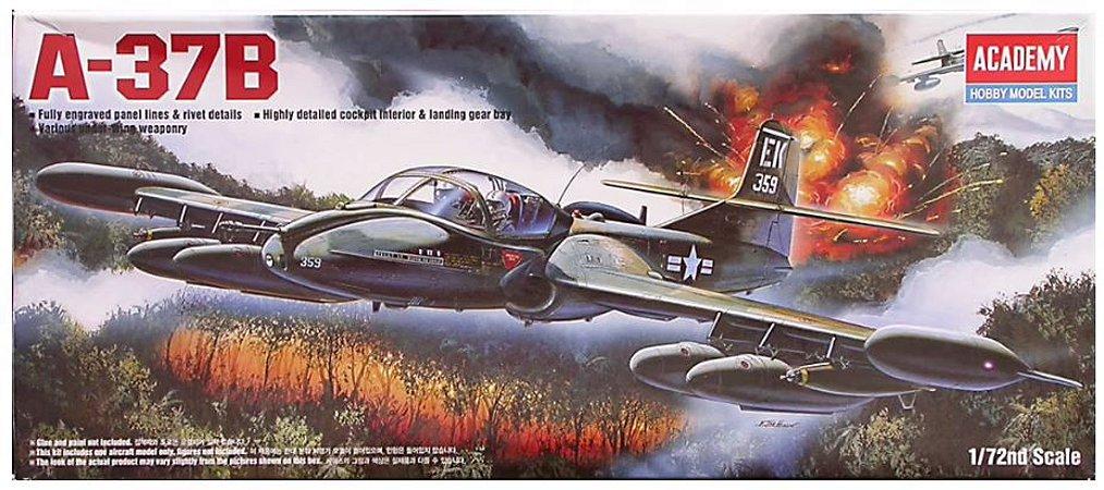 Academy - A-37B - 1/72