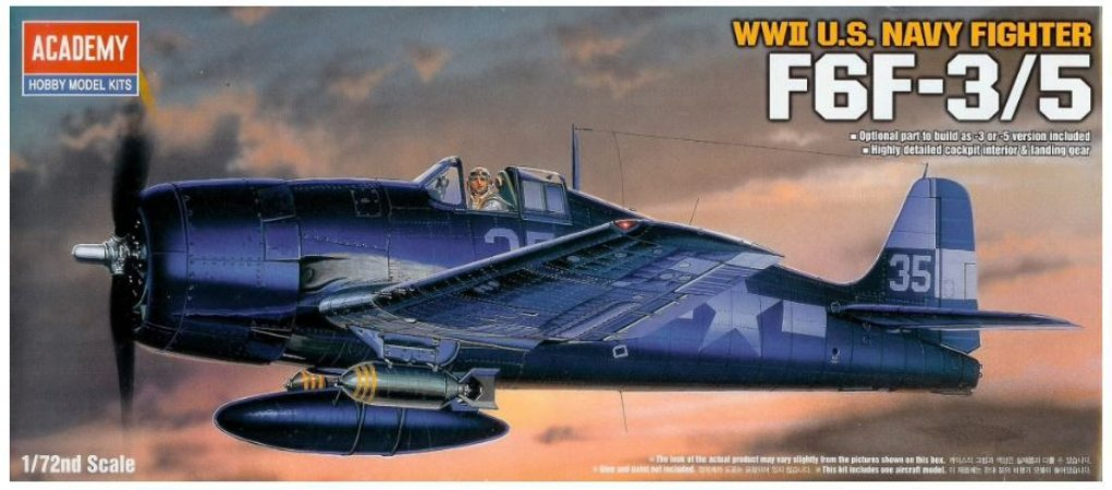 Academy - F6F-3/5 - 1/72