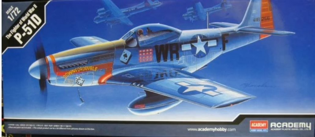 Academy - P-51D - 1/72