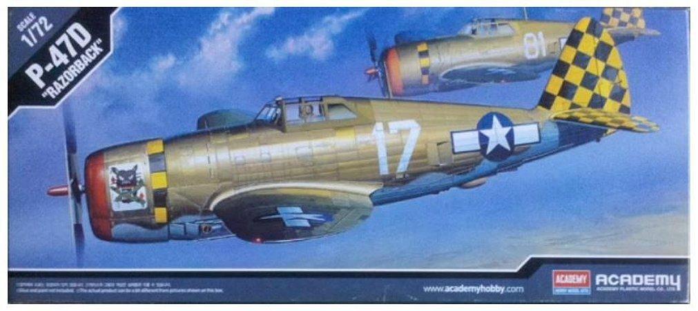 "Academy - P-47D ""Razorback"" - 1/72"