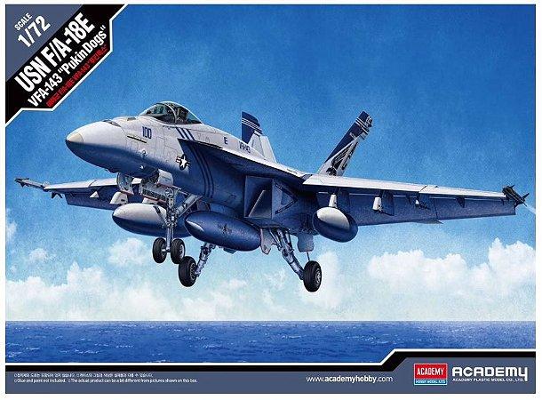 "Academy - USN F/A-18E VFA-143 ""Pukin Dogs"" - 1/72"