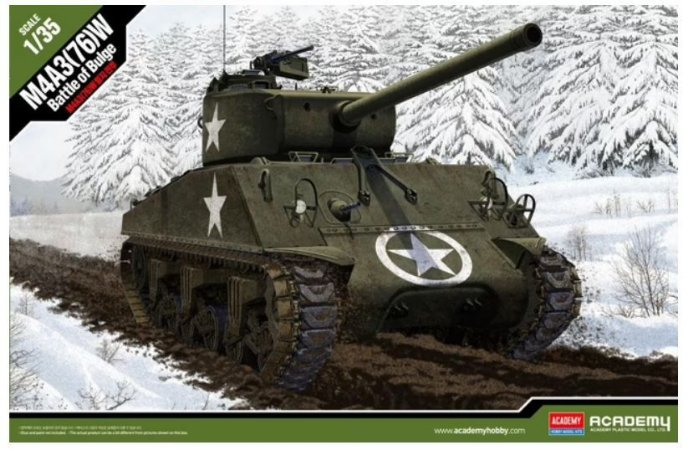 Academy - M4A3(76)W - 1/35