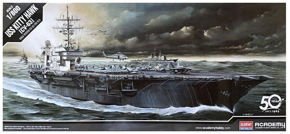 Academy - USS Kitty Hawk CV-63 - 1/800