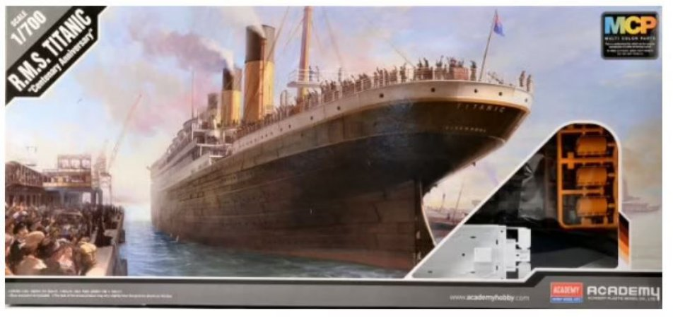 Academy - R.M.S. Titanic Centenary Anniversary - 1/700