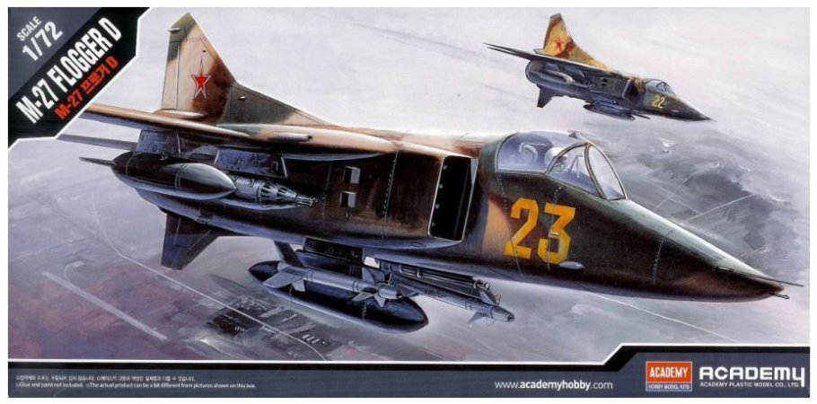 Academy - M-27 Flogger D - 1/72