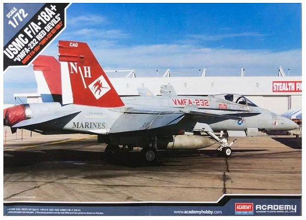 "Academy - USMC F/A-18A+ ""VMFA-232 Red Devils"" - 1/72"