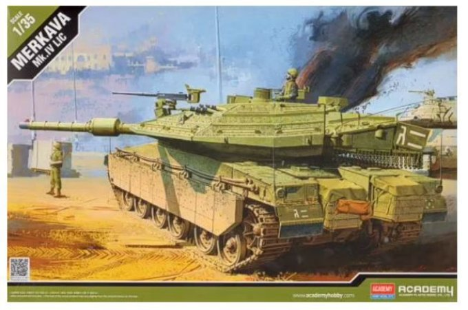 Academy - Merkava Mk.IV LIC - 1/35