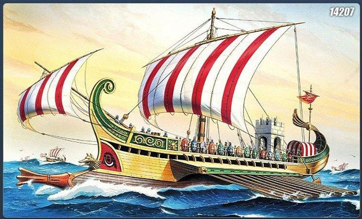 Academy - Roman Warship Circa B.C. 50 - 1/72