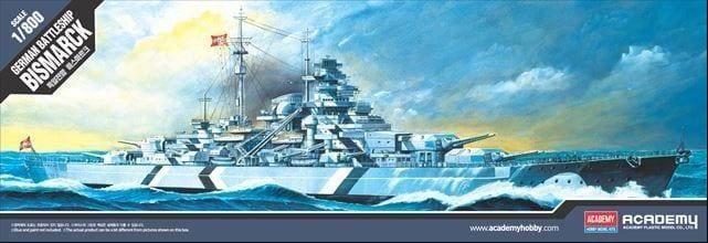 Academy - German Battleship Bismarck - 1/800