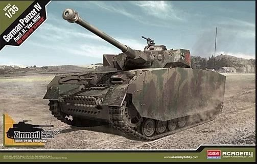 "Academy - German Panzer IV Ausf. H ""Ver. Mid"" - 1/35"