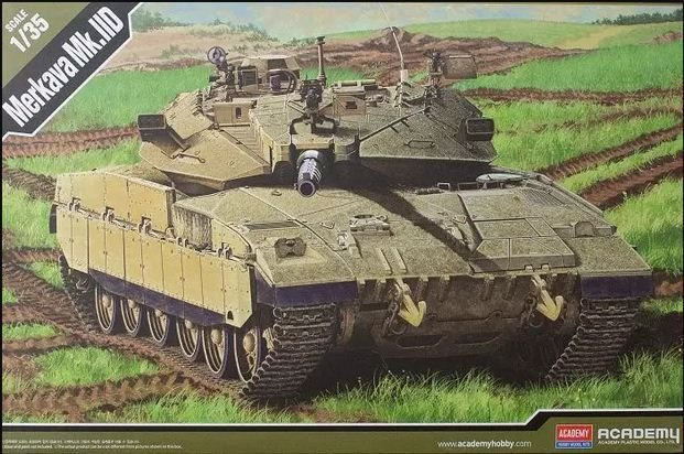 Academy - Merkava Mk.IID - 1/35