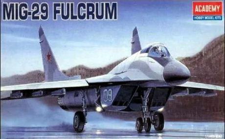 Academy - MiG-29 Fulcrum - 1/144