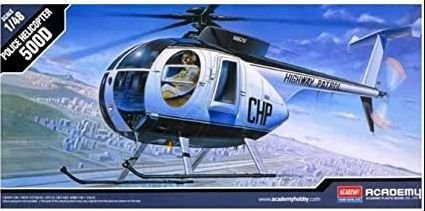 Academy - Police Helicopter 500D - 1/48