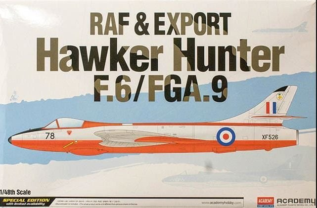 Academy - RAF & Export Hawker Hunter F.6/FGA.9 - 1/48