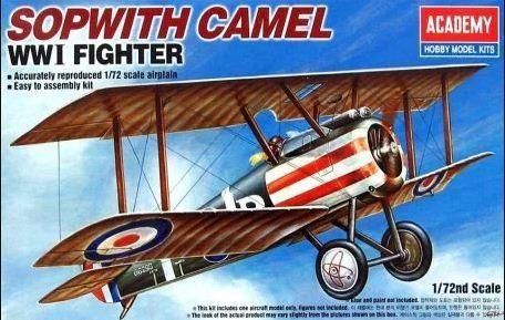 Academy - Sopwith Camel - 1/72