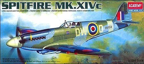 Academy - Spitfire Mk.XIV C - 1/72