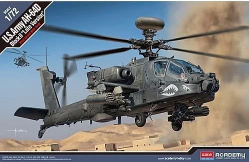 "Academy - U.S. Army AH-64D Block II ""Late Version"" - 1/72"