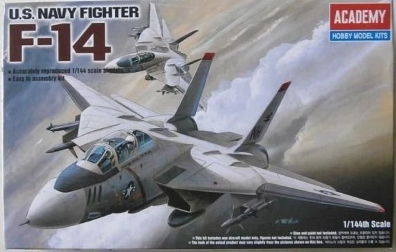 Academy - U.S. Navy Fighter F-14 - 1/144