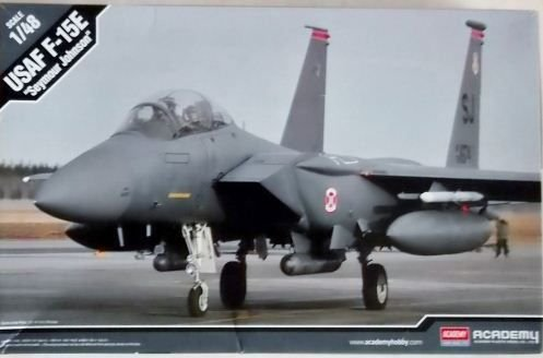 "Academy - USAF F-15E ""Seymour Johnson"" - 1/48"