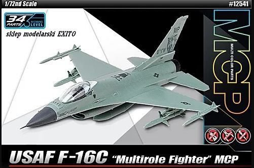 "Academy - USAF F-16C ""Multirole Fighter"" MCP - 1/72"