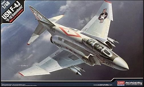 "Academy - USN F-4J ""VF-102 Diamondbacks"" - 1/48"